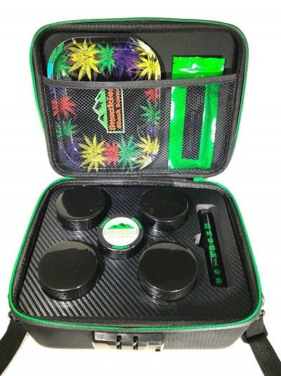 Smell Proof Stash Box w/ Accessories