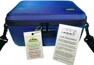 Lockable Smell Proof Lockable Travel Box