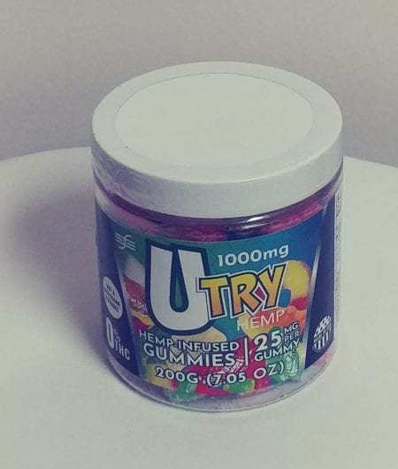UTry CBD Edible Gummies For Sale