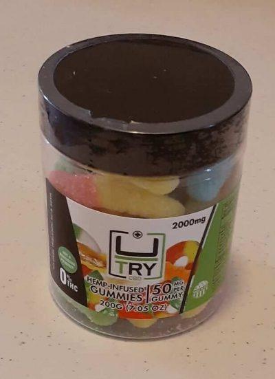 2000mg High Dosage CBD Gummies