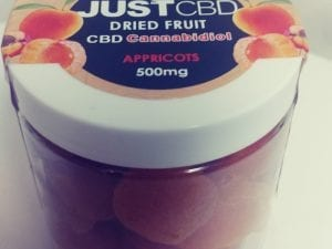 Just CBD Dried Fruit Edibles