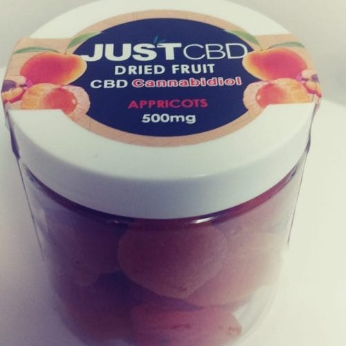 Just CBD Real Dried Fruit Edibles