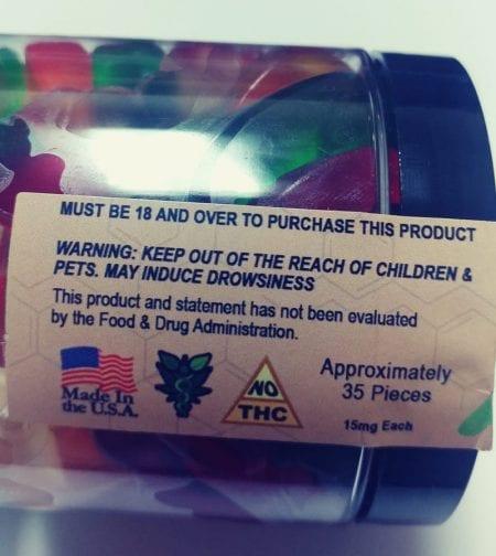 CBD Gummy Worms For Sale