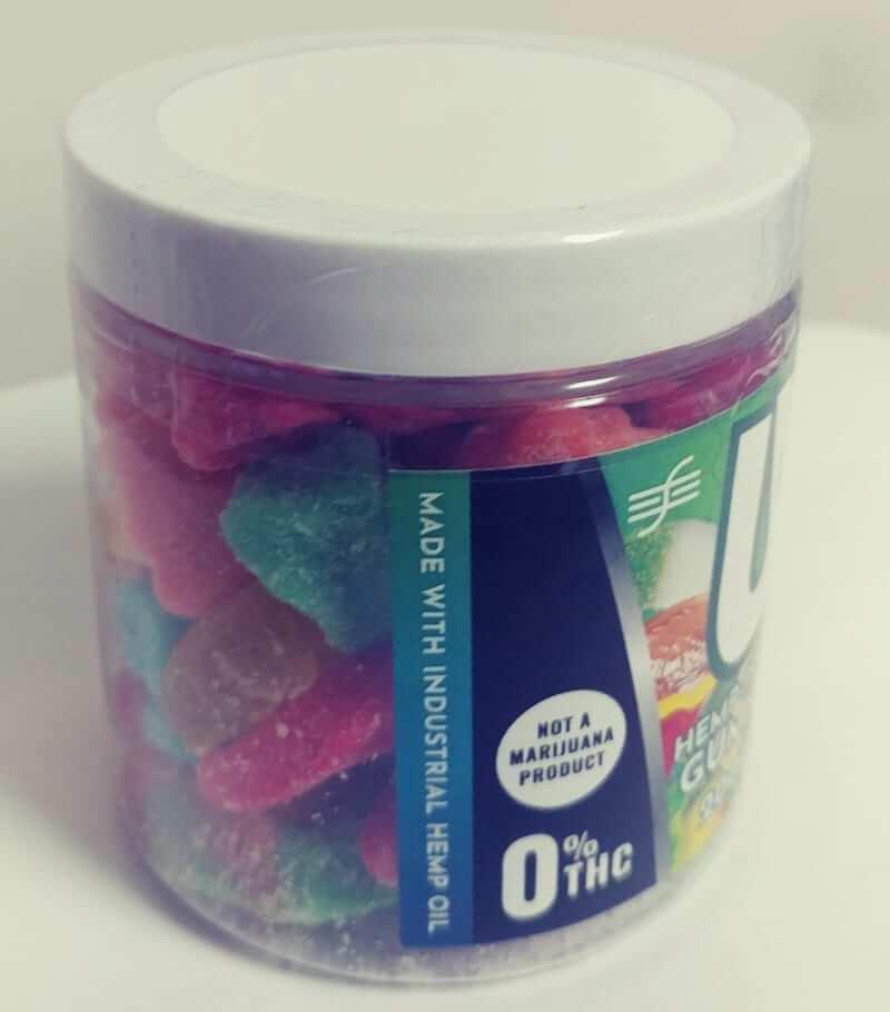 U Try CBD Edible Gummies