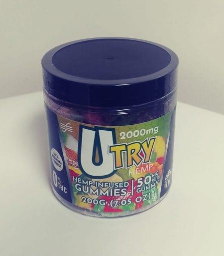 2000mg / 50mg Per Gummie CBD Edible