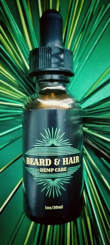 CBD Beard Oil & Hair Care Oil