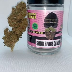 Sour Space Candy CBD Flower