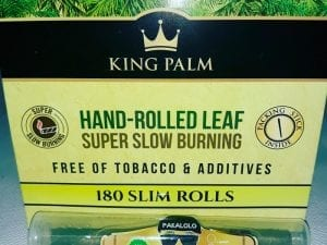 CBD Blunts Made From King Palm Leaf