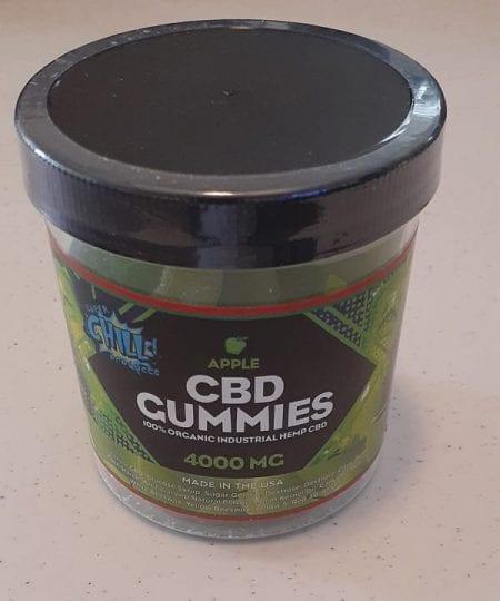 4000mg / 100mg per gummie cbd