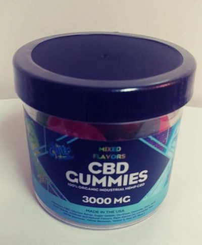 High Dosage CBD Gummies 75mg per