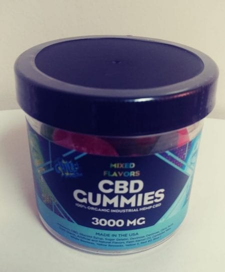 High Dosage CBD Gummies 75mg per