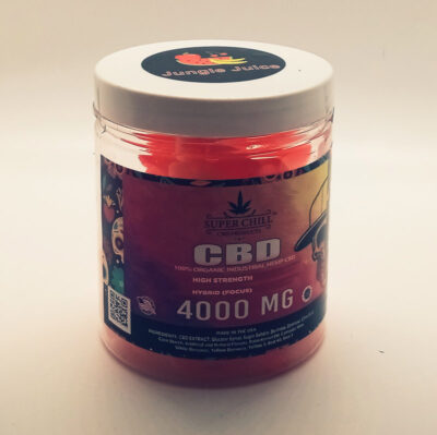 Super Chill High Dosage CBD Gummies