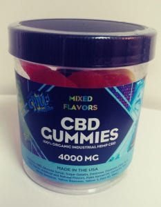 4000mg Super Chill CBD Gummies