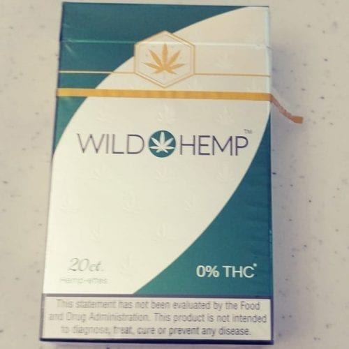 Wild Hemp 10mg CBD Cigarettes