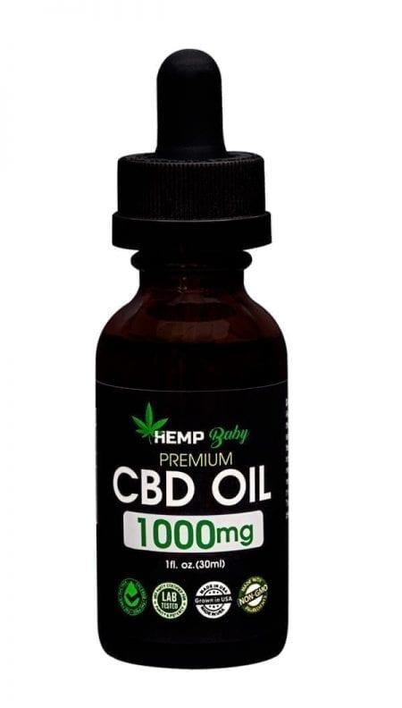 Premium 1000mg CBD Oil
