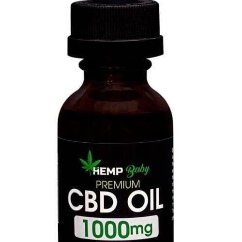 Hemp Baby 1000mg High Potency CBD Oil