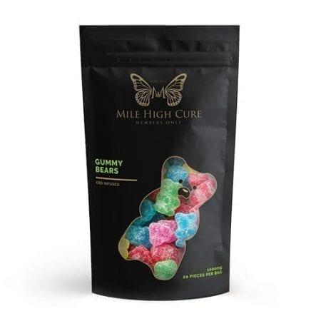 Premium High Dosage CBD Gummies By MHC