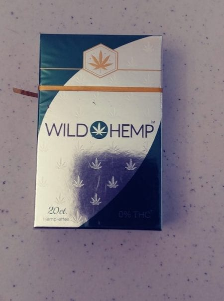 Hemp Cigarette Pack