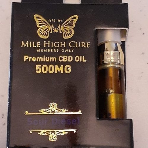 500mg Sour Diesel Cartridges