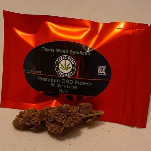 High Potency Wife CBD Flower