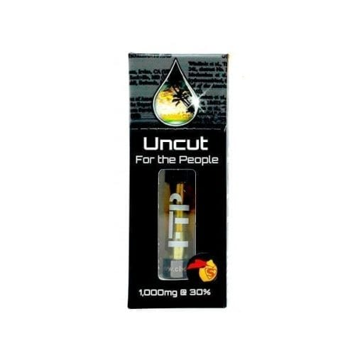 30% Uncut CBD Wax Cartridge 1000mg