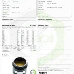 Menthol CBD Cream w/ 600mg of Raw CBD