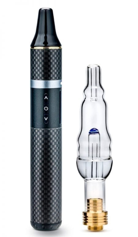 Dry Herb & Concentrates Vape w/ Water Filtration