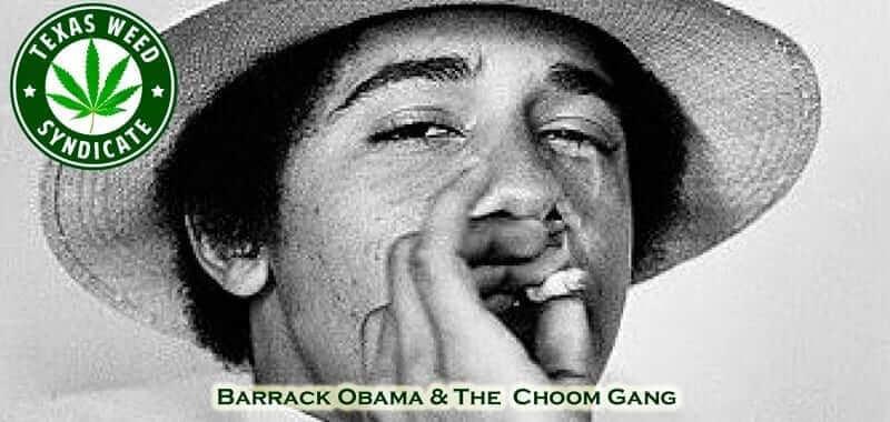 44th President Barrack Obama Smoking Pot - Choom Gang