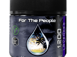 Dark Unrefined CBD Cream For Pain 1200mg Of CBD