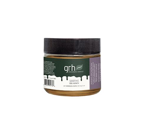 Full Spectrum Texas Wildflower CBD Honey w/ Grand Daddy Purple Terpenes