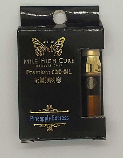 500mg Pineapple Express CBD Cart