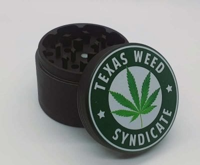 Weed Grinder Black TWS