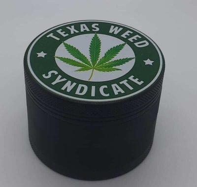 Black Texas Weed Syndicate Grinder