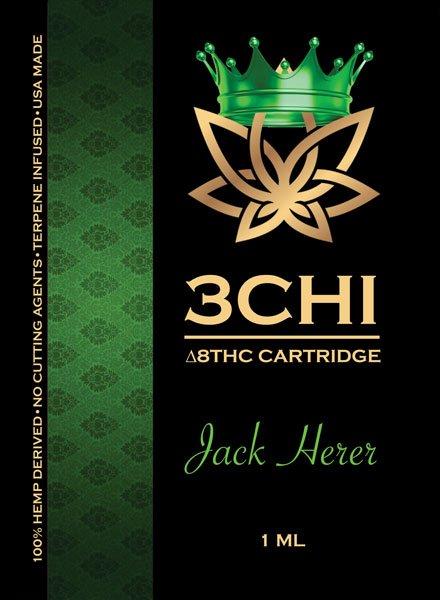 Jack Herre Sativa THC8 Cartridge