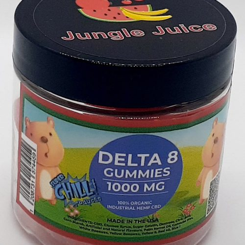 SuperChill Delta8 Gummies 1000mg / 100mg per gummy