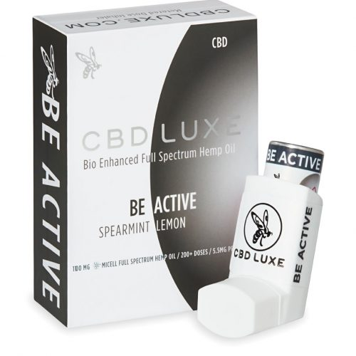Be Active 1100mg Pharmaceutical Grade CBD Inhaler