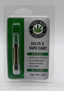 Delta 8 1000mg Og Kush Cartridge