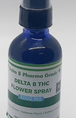Delta 8 THC Flower Spray 5000mg