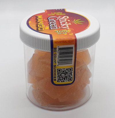 1500mg jar of Delta 8 THC Gummies