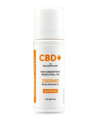 2500mg CBD Warming Musel Relief Roll On
