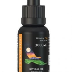 Extra Strong 3000mg CBD Tincture Unflavored