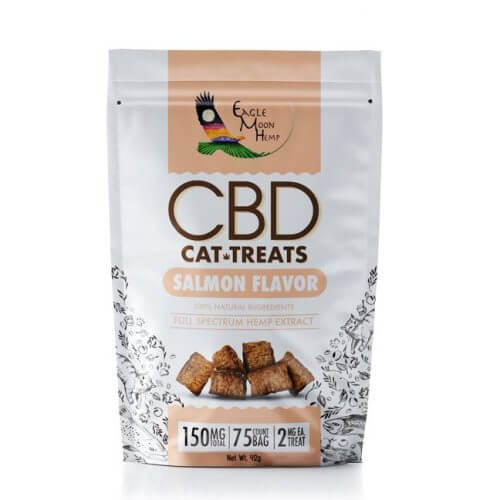 Salmon Flavor CBD Cat Treats
