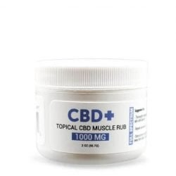 1000mg CBD Muscle Rub