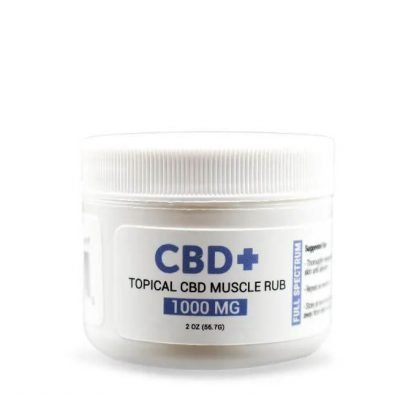 CBD Muscle Rub 1000mg Full Spectrum
