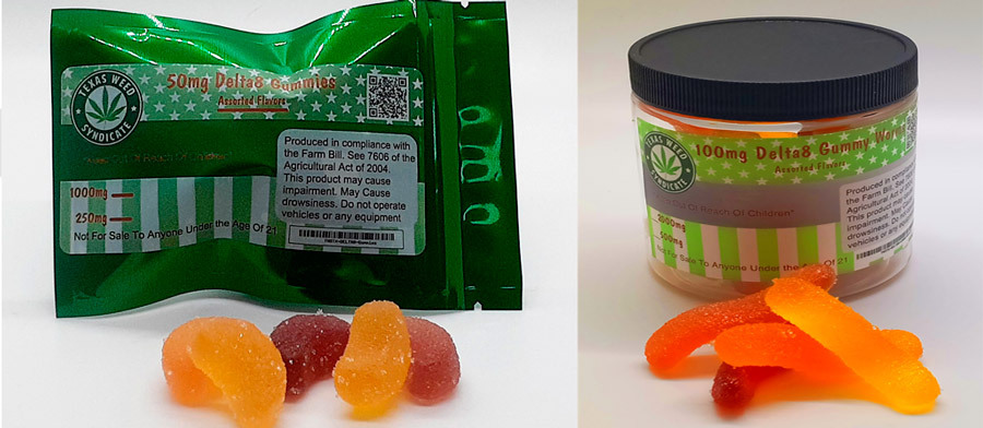 Texas Weed Syndicate Delta 8 Gummies