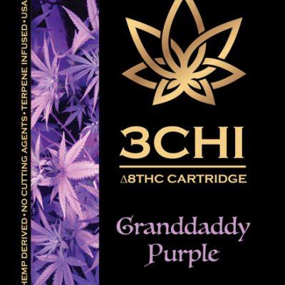 Best Granddaddy Purple THC8 Cart