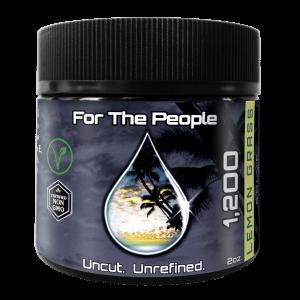 Full Spectrum CBD Cream For Pain w/ Lemon Grass & 1200mg of CBD